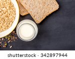 A Bottle Of Milk  Dry Bread ...