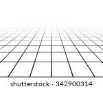perspective grid line...   Shutterstock . vector #342900314