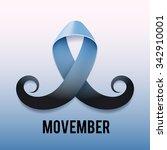 prostate cancer ribbon...   Shutterstock .eps vector #342910001