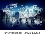 creativity artistic imagination ... | Shutterstock . vector #342912215