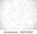 abstract geometric background... | Shutterstock .eps vector #342915047