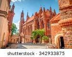 St. Anne's Church In Vilnius...