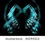 abstract blue background | Shutterstock . vector #34294312