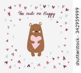 Love Printable With Cute Bear...