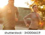 fitness  sport  people and... | Shutterstock . vector #343006619