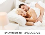 people  family  bedtime and... | Shutterstock . vector #343006721