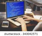 php programming html coding... | Shutterstock . vector #343042571