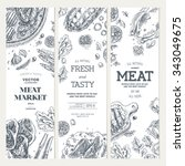 Meat Market  Banner Collection...