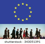 european union country flag... | Shutterstock . vector #343051391