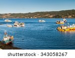 dalcahue  chile   march 21 ... | Shutterstock . vector #343058267