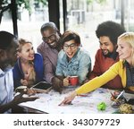 Small photo of Start up Business Team Meeting Ideas Concept