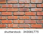 background of brick wall texture | Shutterstock . vector #343081775