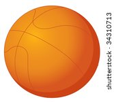 illustration of  a ball on... | Shutterstock . vector #34310713