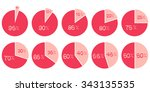 Percentage Vector Infographics...