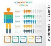human infographic elements... | Shutterstock .eps vector #343138457