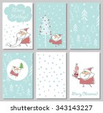 we wish you a merry christmas... | Shutterstock .eps vector #343143227