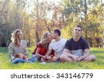 love in the park | Shutterstock . vector #343146779