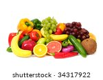 fruit | Shutterstock . vector #34317922