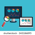 analitycs search and seo... | Shutterstock .eps vector #343186895