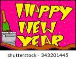 easy to edit vector... | Shutterstock .eps vector #343201445