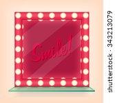 makeup mirror | Shutterstock .eps vector #343213079