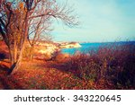 Autumn Landscape With Views Of...