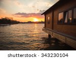 Wooden House On The River....