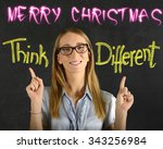 merry christmas | Shutterstock . vector #343256984