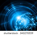 best internet concept. globe ... | Shutterstock . vector #343270559