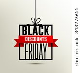 black friday sales and discounts | Shutterstock .eps vector #343276655