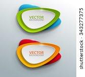 vector banners set. | Shutterstock .eps vector #343277375