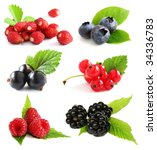 Selection Of Summer Berry...