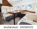 luxury interior in bright... | Shutterstock . vector #343369151