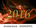 happy new year card.  | Shutterstock . vector #343403951