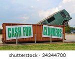 US Government Consumer Assistance to Recycle and Save Program. - stock photo