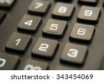 black button of the device for... | Shutterstock . vector #343454069