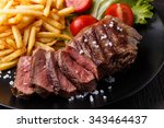 New York Steak With French...