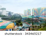 genting highlands  malaysia  ... | Shutterstock . vector #343465217