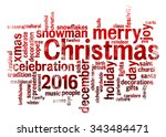 2016 Christmas Word Cloud...