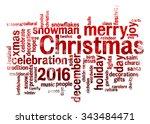 2016 Christmas Word Cloud...