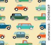 seamless wallpaper of set... | Shutterstock .eps vector #343486169