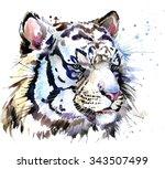 White Tiger T Shirt Graphics ...
