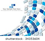 abstract 3d checked  business