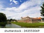 fagaras brasov  romania   circa ... | Shutterstock . vector #343553069