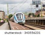 Metro Train  In Stockholm ...