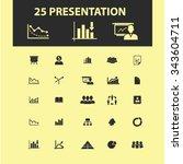 presentation  chart  diagram ... | Shutterstock .eps vector #343604711