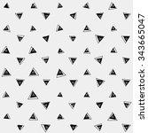 pattern geometric  background... | Shutterstock .eps vector #343665047