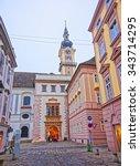linz  austria   january 6  2014 ... | Shutterstock . vector #343714295