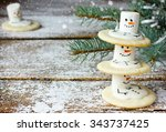 Cute Christmas Cookies Snowman...