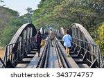 Travel Railway Metal Bridge Of...